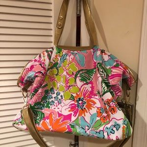 Lilly Pulitzer for Target overnight bag